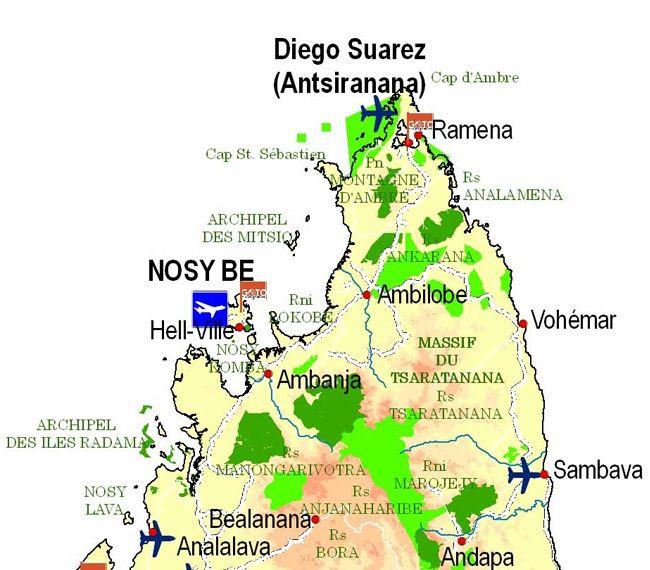 carte grand nord